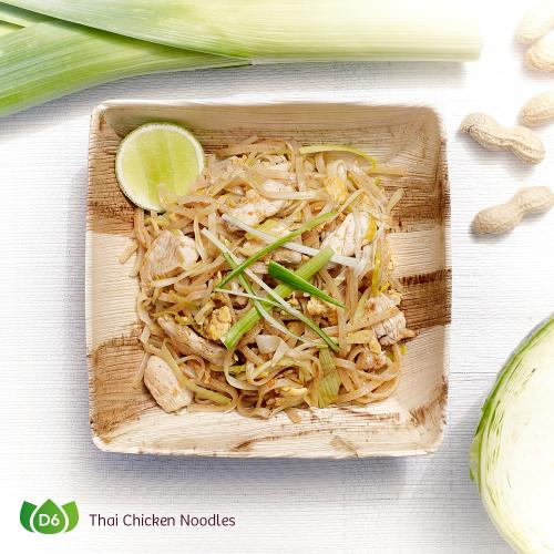 D6 Pad Thai Gai Thai Chicken Noodles